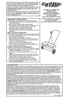 Earthway 7350 Manual