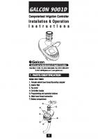 Galcon 9001 Manual