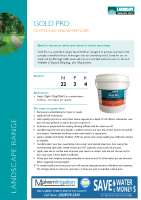 Gold Pro Fertilser Brochure