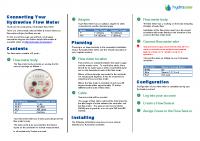 Hunter HC Water Meter Manual
