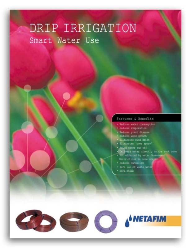 Netafim Drip Accessories Brochure