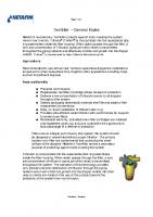 Netafim Techfilter Manual