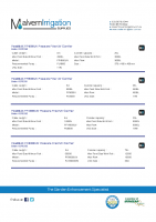 PondMAX Pressure Filter Specs