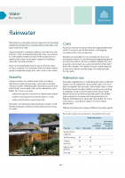 Rainwater Systems Design Guide